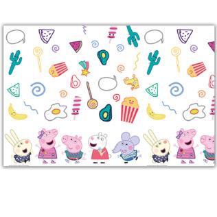Peppa Pig Messy Play - Plastic Tablecover 120x180 cm - 91101