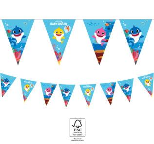 Baby Shark - Triangle Flag Banner (9 flags) FSC. - 92544