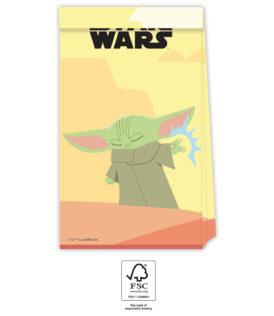 Star Wars The Mandalorian - Party Bags 21x13x8.5 cm. FSC. - 93132