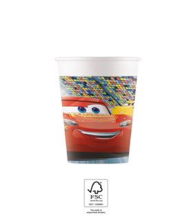 Cars 3 - Paper Cups 200 ml FSC. - 93472