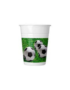 Football Party - Plastic Cups 200 ml - 86870