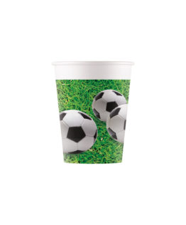Football Party - Paper Cups 200 ml - 90652