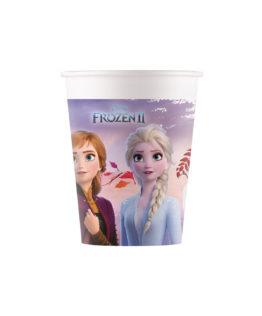 Frozen 2 Destiny Awaits - Paper Cups 200 ml Industrial Compostable FSC - 91147