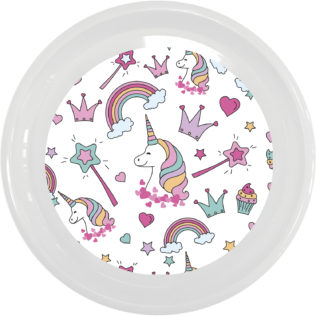 Magic Party Reusable - Reusable Plate 23 cm - 92175