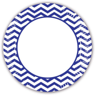 Blue Chevron - Paper Plates Large 23cm  sc 1 st  Procos Party & Blue Chevron - Paper Plates Large 23cm - Procos