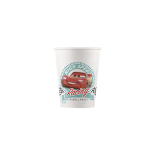 Decorata™ Compostable Cars High Speed - Industrial Compostable Paper Cups 200ml  - 90817