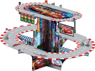 Cars 3 - 3d Cupcake Stand - 82640