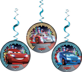 Cars The Legend of the Track - Dangling Cut Outs - 82642