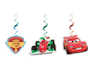 Cars The Legend of the Track - Dangling Cut Outs - 84844