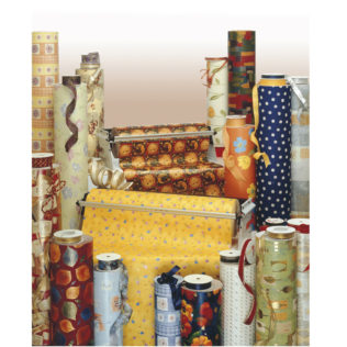 Gift Wrapping Paper - Gift Wrapping Paper In Counter Rolls 200m X 70cm - 5546