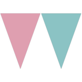 Elegant Mermaid - Triangle Flag Banner (9 Flags) - 89508