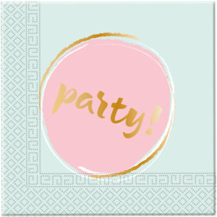 Elegant Party - Two-ply Paper Napkins 33x33cm