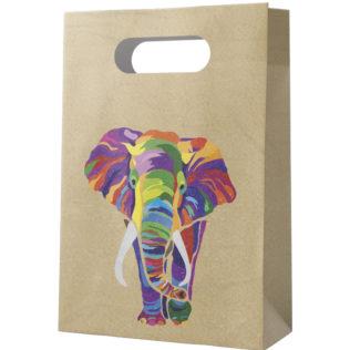 Decorata™ Compostable Elephant - Paper Party Bags - 90608