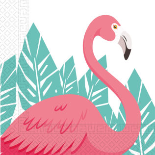 Flamingo - Two-Ply Paper Napkins 33x33cm - 89594