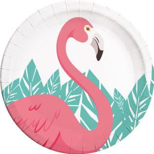 Flamingo - Paper Plates Large 23cm - 89592  sc 1 st  Procos Party & Flamingo - Paper Plates Large 23cm - 89592 - Procos