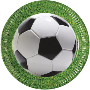 Football Party - Paper Plates 23 cm - 86868