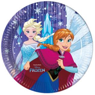 Frozen Snowflakes - Paper Plates Large 23cm  sc 1 st  Procos Party & Frozen Snowflakes - Paper Plates Large 23cm - Procos