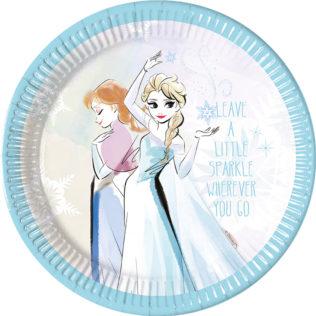 Frozen Sparkle - Paper Plates Large 23cm - 89096  sc 1 st  Procos Party & Frozen Sparkle - Paper Plates Large 23cm - 89096 - Procos