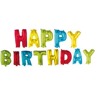 Letter Foil Balloons Happy Birthday Foil Balloons 89652 Procos
