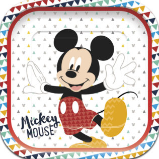Mickey Awesome - Shaped Plates
