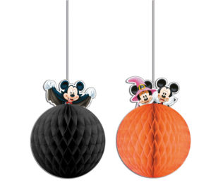 Mickey Halloween - Honeycomb Decorations - 84257