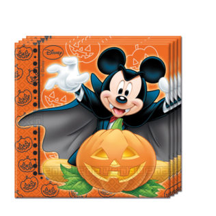 Mickey Halloween - Two-ply Paper Napkins 33x33cm