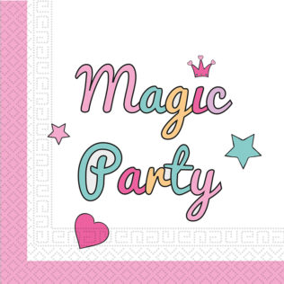 Magic Party - Two-ply Paper Napkins 33x33cm - 89289