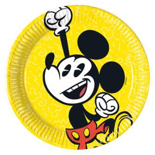 Mickey Super Cool - Paper Plates Medium 20cm - 89206  sc 1 st  Procos Party & Mickey Super Cool - Paper Plates Medium 20cm - 89206 - Procos