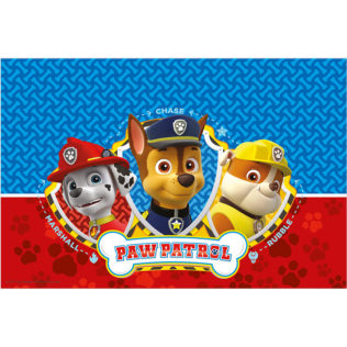 Paw Patrol - Ready for Action! - Plastic Tablecover 120x180cm - 88544