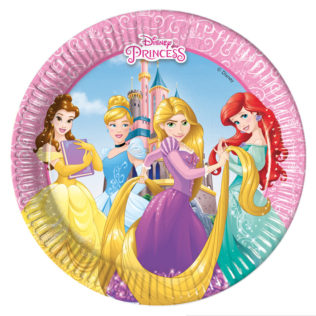 Paper Plates Medium 20cm  sc 1 st  Procos Party & Princess Heart Strong - Paper Plates Medium 20cm - Procos