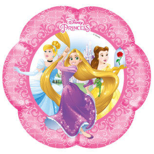 Princess Heart Strong - Shaped Paper Plates  sc 1 st  Procos Party & Princess Heart Strong - Shaped Paper Plates - Procos