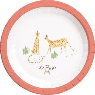 Paper Plates Large 23cm  sc 1 st  Procos Party & Safari - Paper Plates Large 23cm - 89621 - Procos