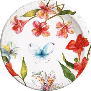 Paper Plates Large 23cm  sc 1 st  Procos Party & Scarlet Romantic - Paper Plates Large 23cm - Procos