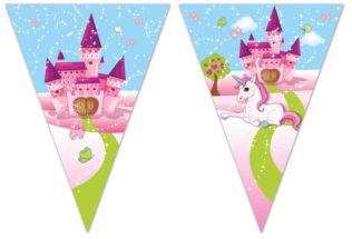 Unicorn - Triangle Flag Banner (9 Flags) - 85830