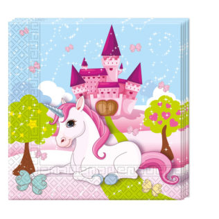 Unicorn - Two-ply Paper Napkins 33x33cm