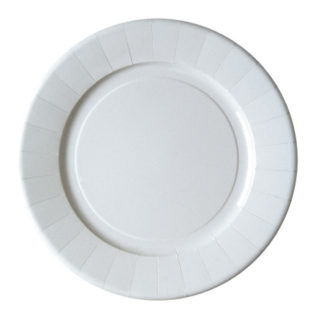 Laminated Paper Plates 28cm  sc 1 st  Procos Party & White Paper Plastic Plates White Plastic Cups u0026 Crystal Cups ...