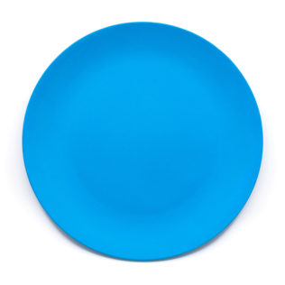 Decorata™ Bamboo Fiber Solid Colour Sets - Bamboo Fiber Plate 24cm (Turquoise) - 90780