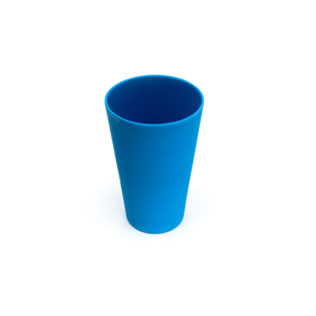 Decorata™ Bamboo Fiber Solid Colour Sets - Bamboo Fiber Cup 450ml (Turquoise) - 90783